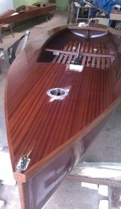 Finn class sailboat