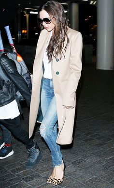 The Way to Wear a Camel Coat Like an A-Lister via @WhoWhatWearUK