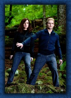 Carlisle protecting Esme by Just4MeAgain.deviantart.com on @deviantART