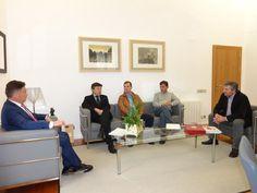 El presidente de la Diputación y el alcalde de Ponferrada se reúnen para ultimar los detalles del acuerdo sobre el Plan Provincial de Prevención y Extinción de Incendios