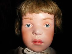 """21"""" Antique Schoenhut Pouty Doll All Original Minty Clothing Never Removed 