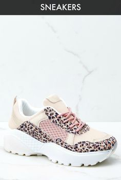 Purchase our women's sneakers and add some style to your day! Shop Red Dress Boutique for the cutest and trendiest sneakers for women, at prices you will love! Leopard Print Sneakers, Leopard Leggings, Pink Leopard Print, Dress With Sneakers, Best Sneakers, Air Max Sneakers, Shop Red Dress, White Tassel Earrings, Valentine's Day Outfit