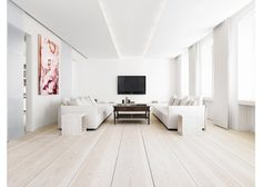 Dinesen is a Danish company which creates these stunning and very special douglas fir and oak floors using raw timer from the best European forests.