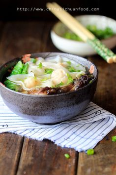 Chinese Cantonese fresh shrimp wonton with a mild soup base. Seafood Recipes, Soup Recipes, Cooking Recipes, Cooking Tips, Asian Recipes, Healthy Recipes, Indonesian Recipes, Orange Recipes, Asia Food