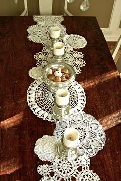 Diy Dollie table runner