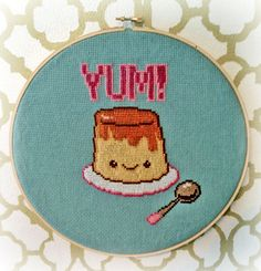 FLANtastic Handmade Kawaii Cross-Stitch $65.00