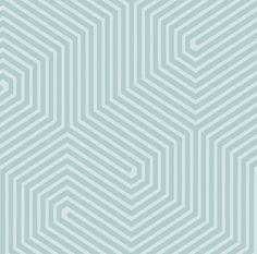 Papier peint Geometric Hexagon (Cole & Son)