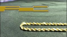Gold Rope Chain is one of the most common chain types that both males and females wear. Buy now at www.jawajewelers.com Guaranteed Genuine or 30 Days Full Money Back Gold Rope Chains, Cut And Style, Solid Gold, Diamond Cuts, Buy Now, Money, Metal, Bracelets, Stuff To Buy