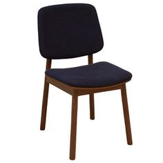 Charcoal & Walnut WhyWood Dining Chair