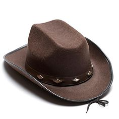 Way out Western Cowboy Halloween Costume Style! Complete any cowboy Halloween costume with one of our stylish cowboy hats. We have the Cowboy and Cowgirl party hats you need to make sure that your Cow...