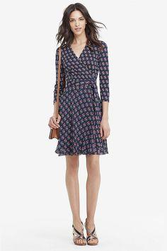 Wrap Dress with Straps – FREE pattern