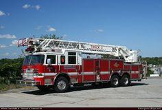 PierceArrow XTAerialBaltimore City Fire Department Emergency Apparatus Fire Truck Photo