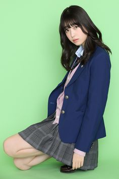 PICK UP ACTRESS 髙橋ひかる | HUSTLE PRESS OFFICIAL WEB SITE School Uniform Outfits, Cute School Uniforms, Japanese Outfits, Japanese Fashion, Female Pose Reference, Drawing Reference, Girls Gallery, Japanese Models, Female Poses