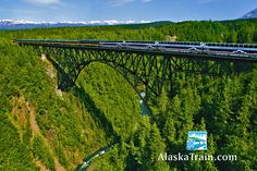 Anchorage to Seward via ARR Glacier Discovery Train. Schedule May 16, 20, 23, 25, 30 & June 1 - September 14, 2015.  Departure Time	         Arrival Time Anchorage	6:45 AM	Seward	11:05 AM Seward	6:00 PM	Anchorage	10:15 PM