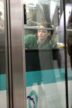 Kristen Stewart, une star dans le métro