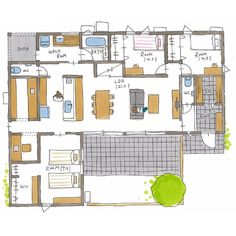 House Layout Plans, House Layouts, Floor Plans, How To Plan, Instagram, Ideas, Buildings, House Floor Plans, Thoughts