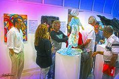 As artes plásticas inspirando a poesia e a poesia inspirando as artes plásticas, no Espaço Zélia Arbex, na Vila (09/04/2015).