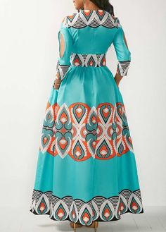 Cheap Maxi Dresses, Sexy Long Maxi Dresses with Various Colors and Styles Online, Page 2 African Print Dresses, African Print Fashion, African Wear, African Attire, African Fashion Dresses, African Dress, Cheap Maxi Dresses, African Traditional Dresses, Maxi Dress With Sleeves