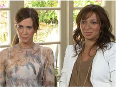 I love how Kirsten Wiig and Maya Rudolph looked real in Bridesmaids. Like beautiful, actual women in their 30s. Fresh change.