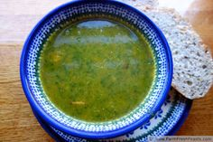 Simple Green Soup--not really a recipe, more a guideline for an easily customizable soup made from what's on hand.
