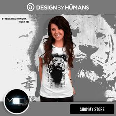 Check out our  #new  #designer #tiger #tshirt #STRENGTH & #HONOUR @designbyhumans for only $24.00 Get yours here: http://www.designbyhumans.com/shop/t-shirt/men/strength-and-honour/70202/ This cool design is also available as #cell #cases for #Iphone and #samsung #galaxy and as #unisex #tank #tops , #sweatshirts and #wall #prints. #tshirts #tees #clothing #apparel #fashion #design #graphics #designbyhumans #case #dbh #dbhtees #tshirt #japanese #cat #abstract #art #fashion #apparel