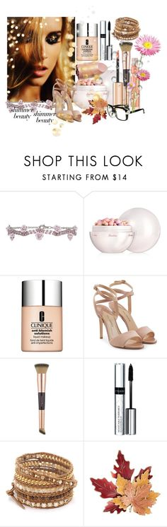 """Beauty"" by monika-michaela-zemanova ❤ liked on Polyvore featuring beauty, Monsoon, Guerlain, Clinique, Paul Andrew, Charlotte Tilbury, By Terry, Chan Luu, Croft & Barrow and Blume"