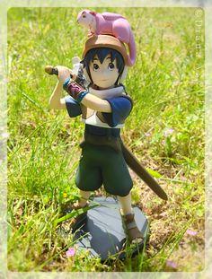 #BraveStory figures from#Kotobukiya. This one is Wataru from the movie based on the novel of the same name by #MiyukiMiyabe.