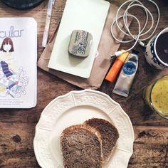Messy breakfast