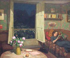Biography of the Czech artist Tavik Frantisek Simon (1877-1942)