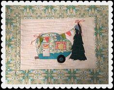 Camper Celebration PDF Mini Quilt Pattern by quiltdoodledesigns