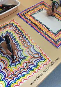 Les ponts graphisme et arts plastiques Elements And Principles, Elements Of Art, Salles D'art Élémentaires, Art Sub Lessons, Classe D'art, Kindergarten Art Lessons, Elementary Art Rooms, 2nd Grade Art, Kid Experiments