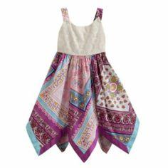 Blueberi Boulevard Crochet Sundress - Toddler