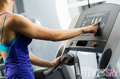 Burn Fat with Treadmill Intervals  Beginners: 1 minute easy (speed around 4) 1 minute medium (speed around 5) 1 minute fast (speed of 6-7) Repeat 5-10 times for a 15- to 30-minute run, with no break.  Click for intermediate and advanced HIIT!