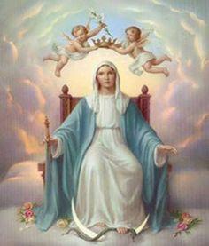 VIRGEM MARIA RAINHA MÃE DE JESUS