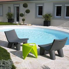 Salon de jardin VERANDA anthracite avec coussins | Zoom, Prod and ...