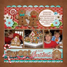 Sweet Christmas - Scrapbook.com