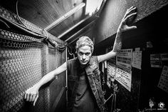MASATO DAVID HAYAKAWA (coldrain) before Performance, He looks so cool and dangerous o.o Photo Taken by Julenphoto