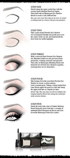 I'm helpless when it comes to how to do make up. I'm counting on this to help!!