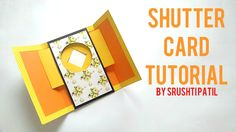 This is a video tutorial on how to make a Shutter Card. Contact: srushti.patil.sp@gmail.com Instagram @all_about_sketch