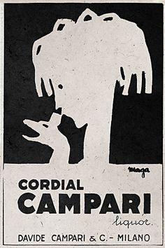 Italian Campari liqueur vintage poster  http://www.vintagevenus.com.au/products/vintage_poster_print-d600