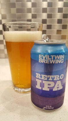 Eviltwin Brewing  Retro IPA