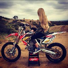 Motocross Girl Tumblr Motocross Girls Motorcross Motocross Bikes