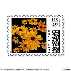 Black-eyed Susan Flowers Custom Postage