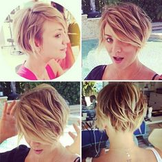 Short hair idea
