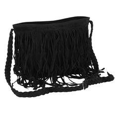 Crossbody Bags Lady Fringe Weave Tassel Cross Handbags