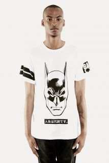 Eleven Paris Men's Jamam M Batman T-Shirt: Short sleeve tee with images on front and both sleeves Eleven Paris, Batman T Shirt, Branded T Shirts, Short Sleeve Tee, Fashion Brands, Topshop, Mens Fashion, Tees, Sleeves