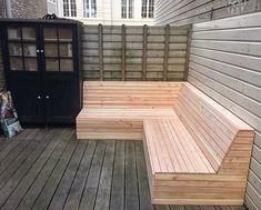 Outside Seating, Backyard Seating, Backyard Garden Design, Garden Seating, Outdoor Seating, Patio Design, Backyard Patio, Outdoor Decor, Pallet Patio Furniture