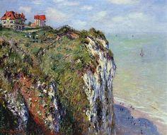 Claude Monet, Cliff at Dieppe (1882). on ArtStack #claude-monet #art