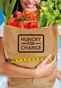 Hungry For Change!! every one on the face of the earth needs to watch this!! this movies shows you how to lose weight and be more happy with your self in the simplest way ever. EATING HEALTHY!! it is crazy how simple and easy it is!! everyone needs to watch this and throw out all of those hopless diets and get down to what is really making you unhealthy!! MUST WATCH!!
