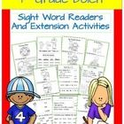 9 original first grade Dolch sight word readers each with extension activities. Each reader uses a minimum of four sight words that children practi...